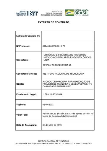 Extrato CPMH